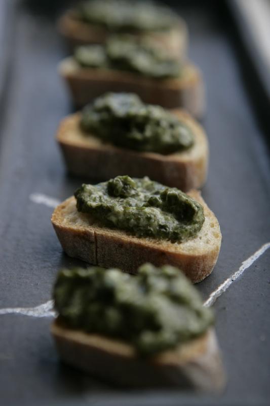 tartare ou tapenade d'algues pour l'apéritif