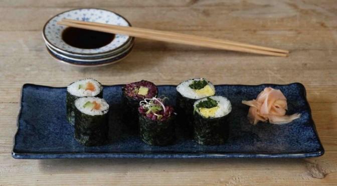 Vidéo réalisation des maki sushi