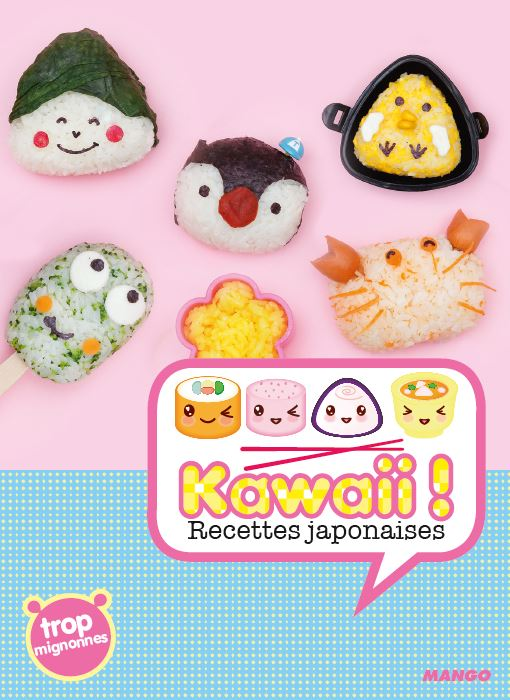 Coffret Kawaii Accessoires Et Recettes Japonaises Trop Mignonnes