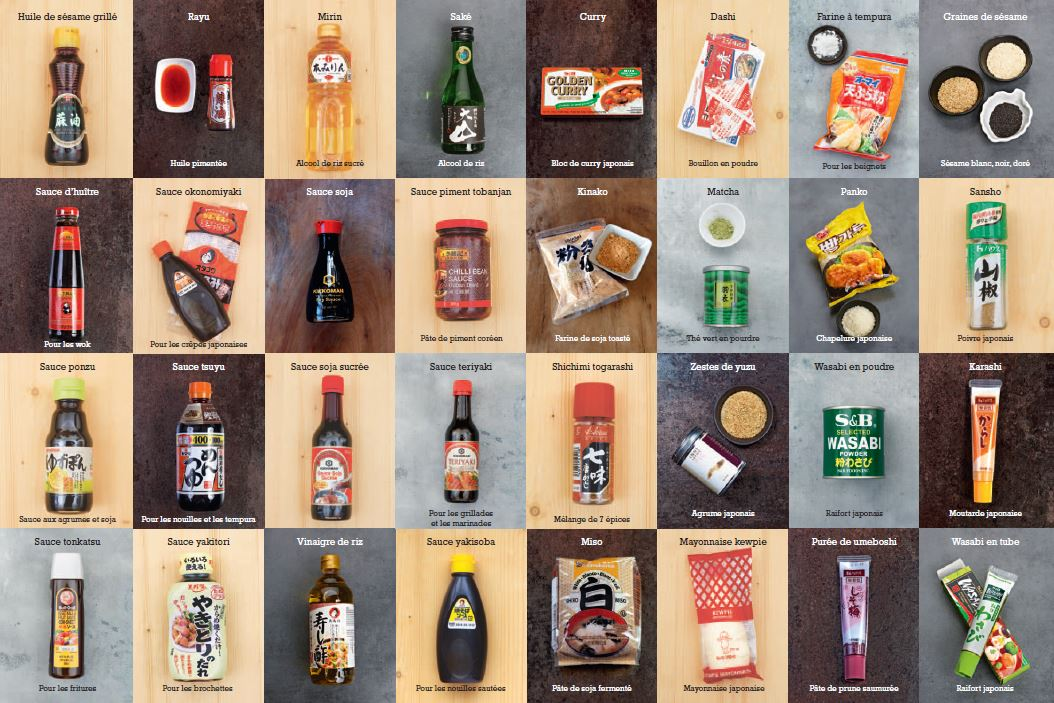 Cuisine Japonaise : le grand livre! - Laure Kié