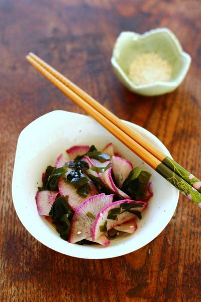 Algue wakamé en salade