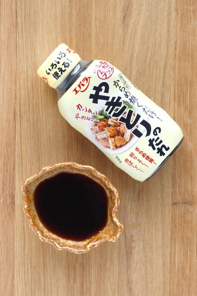 sauce yakitori pour marinade et brochette