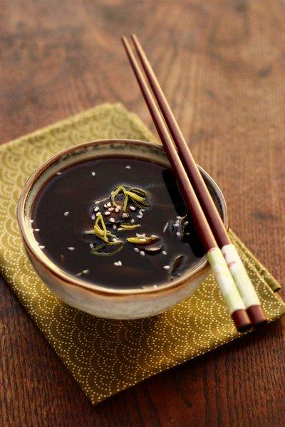 recette de la soupe miso shiru japonaise
