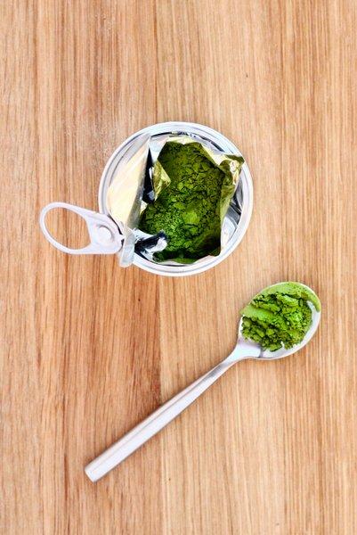 poudre de thé vert matcha japonais