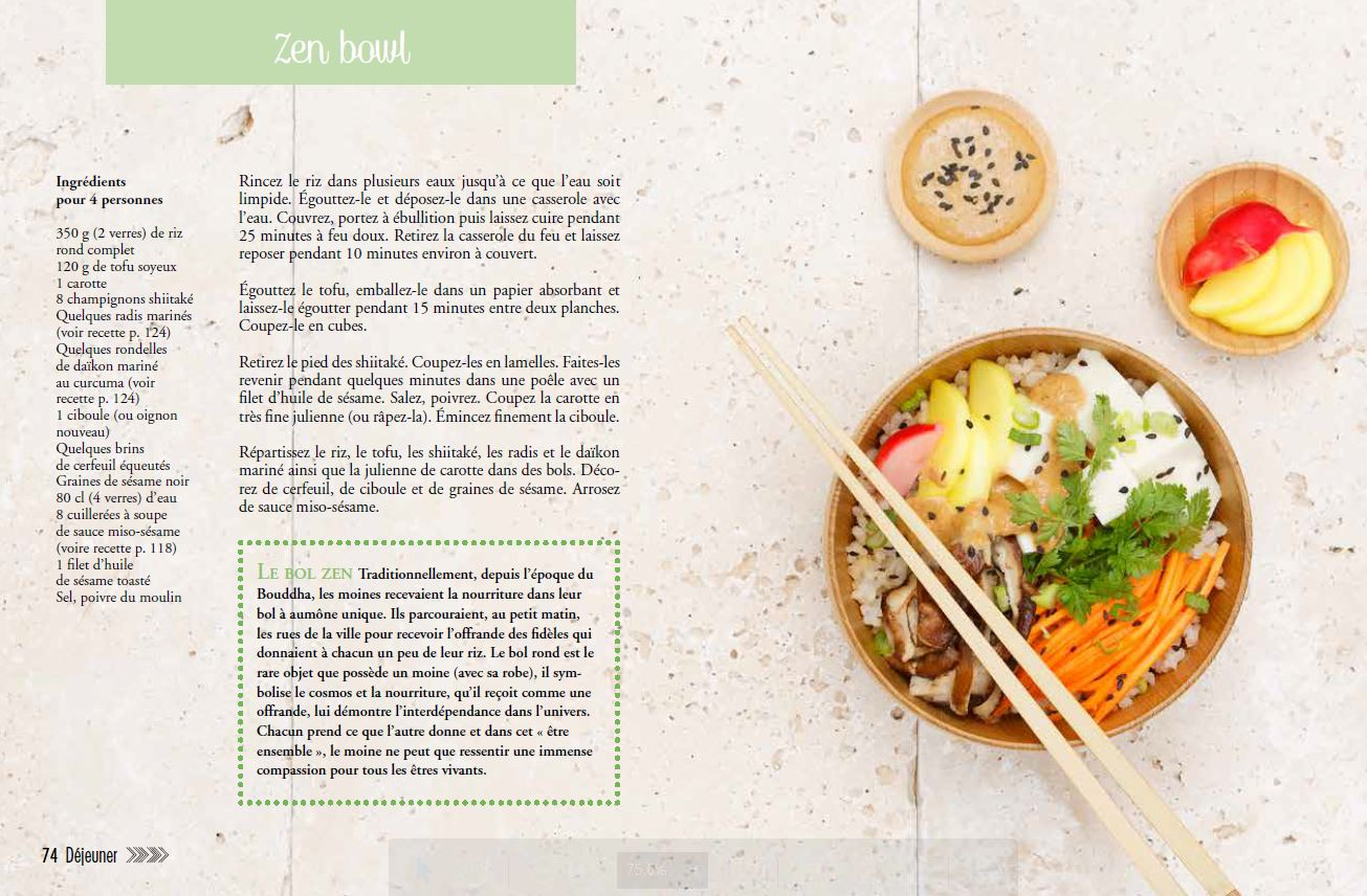 \u2013 Zen Food  Recettes