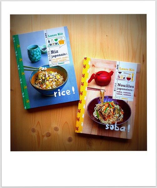 Livres de cuisine japonaise : nouilles et riz