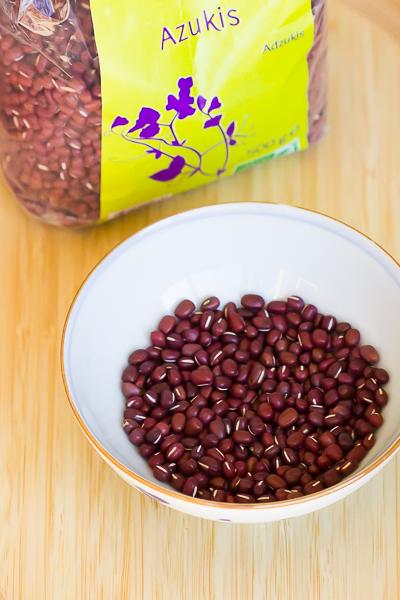 azuki haricot pour la patisserie japonaise