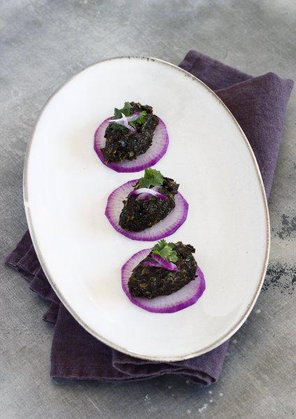 recette des algues nori en tartare
