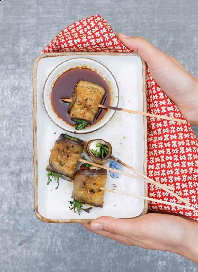 Brochettes méditerranéo japonaises : une recette yakitori originale!
