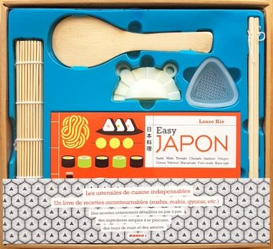 coffret cuisine japonaise recettes et ustensiles