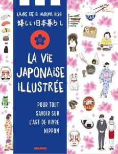 couverture livre la vie japonaise illustrée